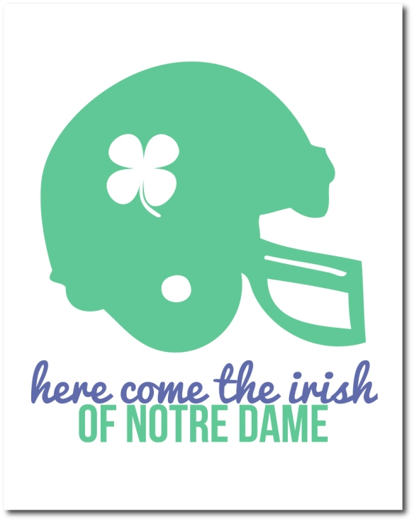 notre dame football.